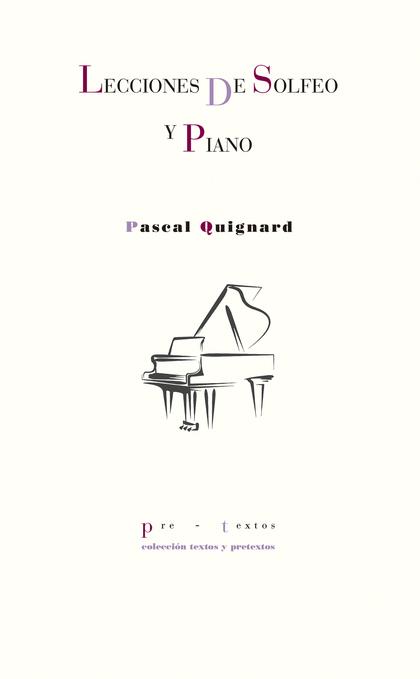 LECCIONES DE SOLFEO Y PIANO