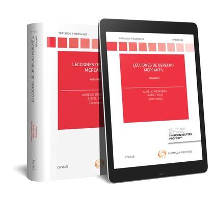 (17º) LECCIONES DE DERECHO MERCANTIL VOLUMEN I (DÚO).