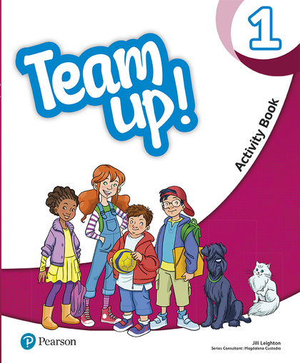 TEAM UP! 1 ACTIVITY BOOK.