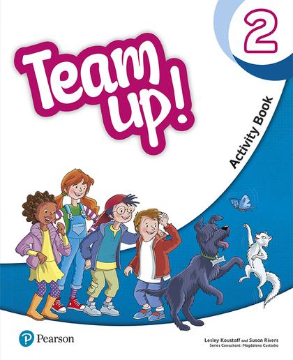 TEAM UP! 2 ACTIVITY BOOK.