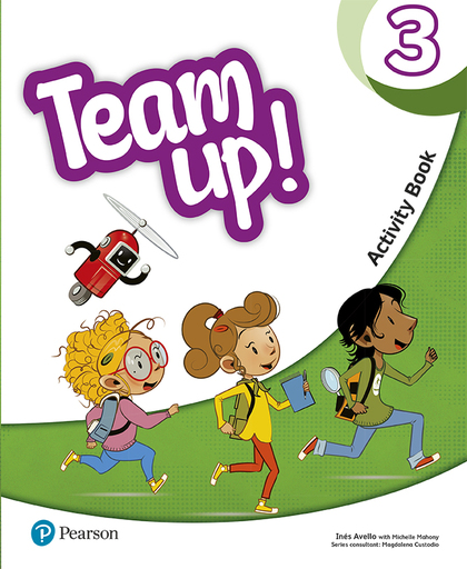 TEAM UP! 3 ACTIVITY BOOK.