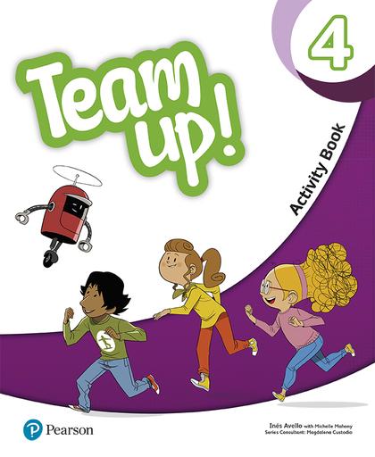 TEAM UP! 4 ACTIVITY BOOK.