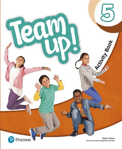 TEAM UP! 5 ACTIVITY BOOK.