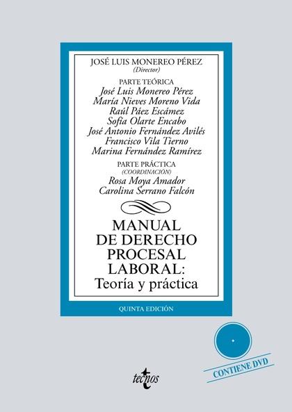 MANUAL DE DERECHO PROCESAL LABORAL: