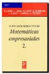 EJERCICIOS RESUELTOS.MATEMATICAS EMPRESARIALES,2