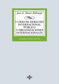 CURSO DE DERECHO INTERNACIONAL PÚBLICO Y  ORGANIZACIONES INTERNACIONALES.