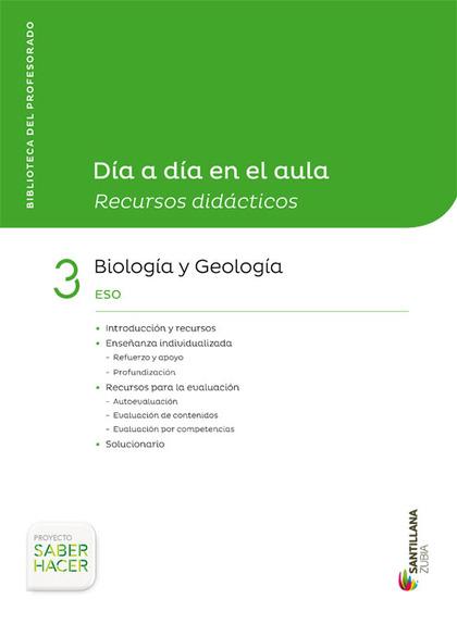 DIA A DIA BIOLOGIA Y GEOLOGIA 3ESO CAST/EUSK