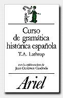 CURSO GRAMATICA HISTORICA ESPAÑOLA