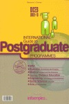 DICES, 2008-2009. INTERNATIONAL GUIDE TO POSTGRADUATE PROGRAMMES