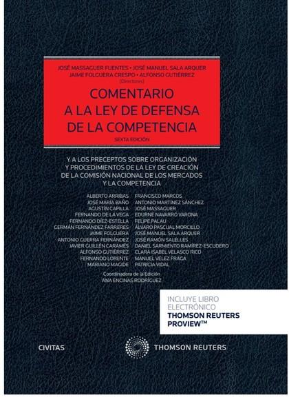 COMENTARIO A LA LEY DE DEFENSA DE LA COMPETENCIA.