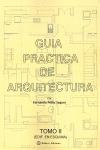 GUIA PRACTICA DE ARQUITECTURA.TOMO II.EDIF.EN ESQUINA. TOMO II EDIFICIO EN ESQUINA