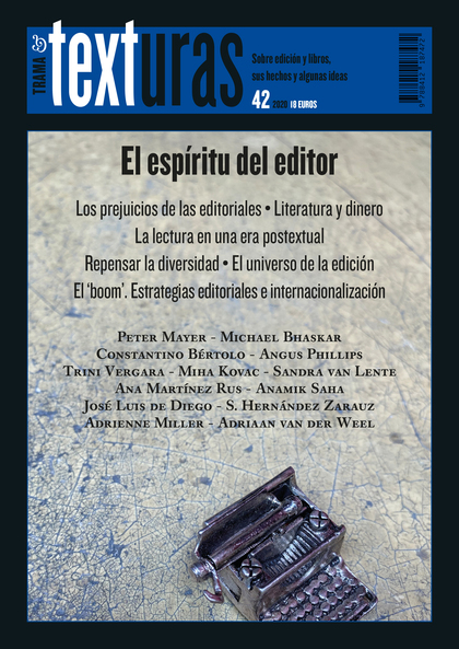 TEXTURAS 42: EL ESPÍRITU DEL EDITOR