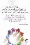 EVALUACIÓN PSICOPEDAGÓGICA Y ORIENTACIÓN EDUCATIVA.