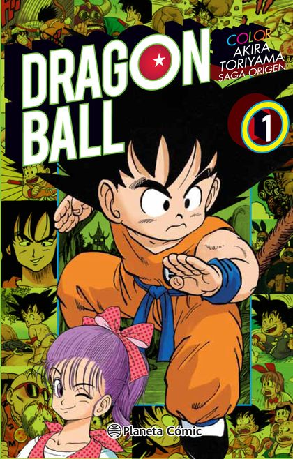 DRAGON BALL COLOR ORIGEN Y RED RIBBON Nº 01/08