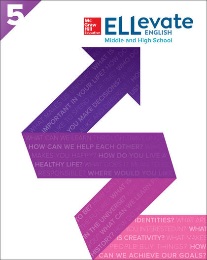 ELLEVATE ENGLISH: MIDDLE AND HIGH SCHOOL E WORKBOOK LEVEL 5