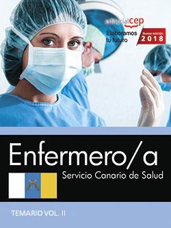 ENFERMERO/A. SERVICIO CANARIO DE SALUD. TEMARIO VOL. II