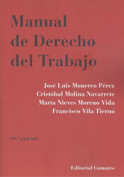MANUAL DE DERECHO DEL TRABAJO (19 ED.).