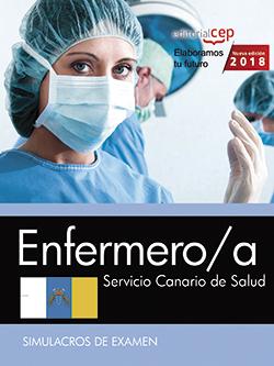 ENFERMERO/A. SERVICIO CANARIO DE SALUD. SIMULACROS DE EXAMEN