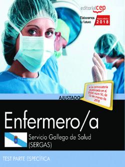 ENFERMERO/A DEL SERVICIO GALLEGO DE SALUD (SERGAS). TEST PARTE ESPECÍFICA.