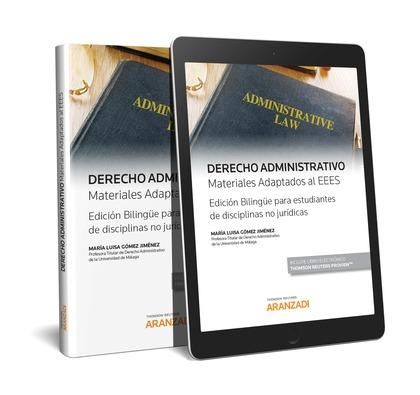 DERECHO ADMINISTRATIVO MATERIALES ADAPTADOS AL EEES (DÚO).