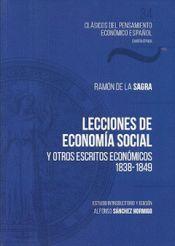 LECCIONES DE ECONOMIA SOCIAL.