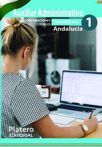 AUXILIARES ADMINISTRATIVOS DE CORPORACIONES LOCALES. ANDALUCÍA. TEMARIO.  VOLUME.