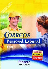 TEST DEL TEMARIO PERSONAL LABORAL DE CORREOS.