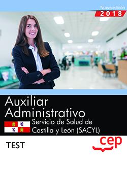 AUXILIAR ADMINISTRATIVO. SERVICIO DE SALUD DE CASTILLA Y LEÓN (SACYL). TEST.