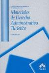 MATERIALES DE DERECHO ADMINISTRATIVO TURÍSTICO